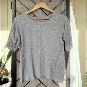 Converse T-Shirt Grey Loose Fit XS